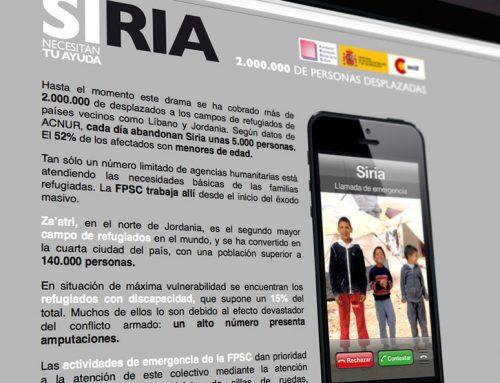 FPSC CAMPAÑA POR SIRIA