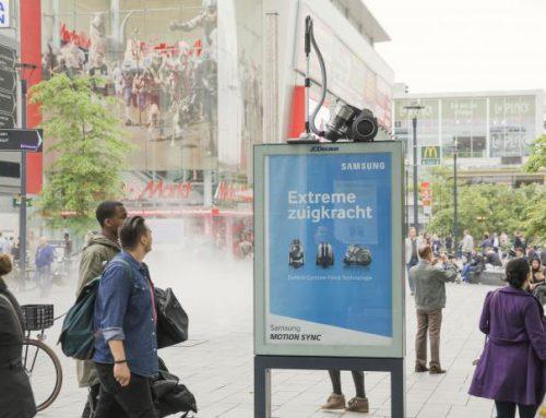 Samsung y su original manera de anunciar su aspiradora