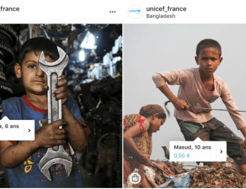 Unicef aprovecha lo último de Instagram en publicidad