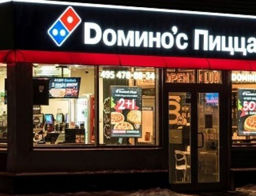 Domino's Pizza muere de éxito en Rusia