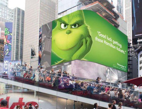 Un Grinch inoportuno para promocionar el nuevo remake