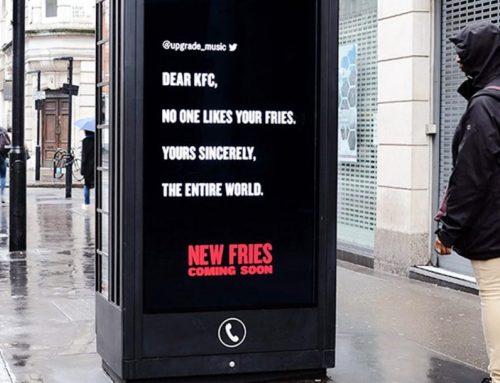 KFC recoge las críticas de Twitter para promocionar su nuevo producto