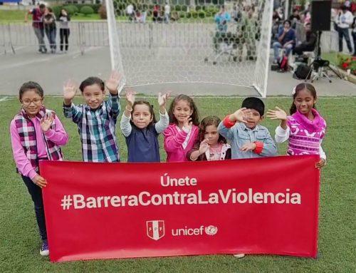 La barrera contra la violencia de la Selección de Perú