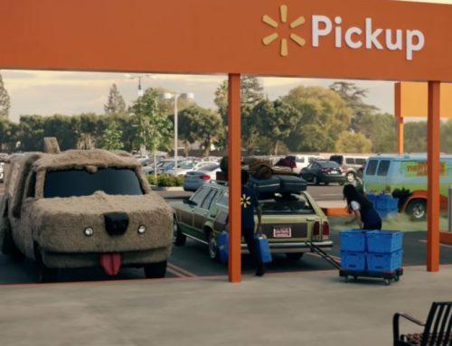 Los coches más famosos del cine se juntan para Walmart.